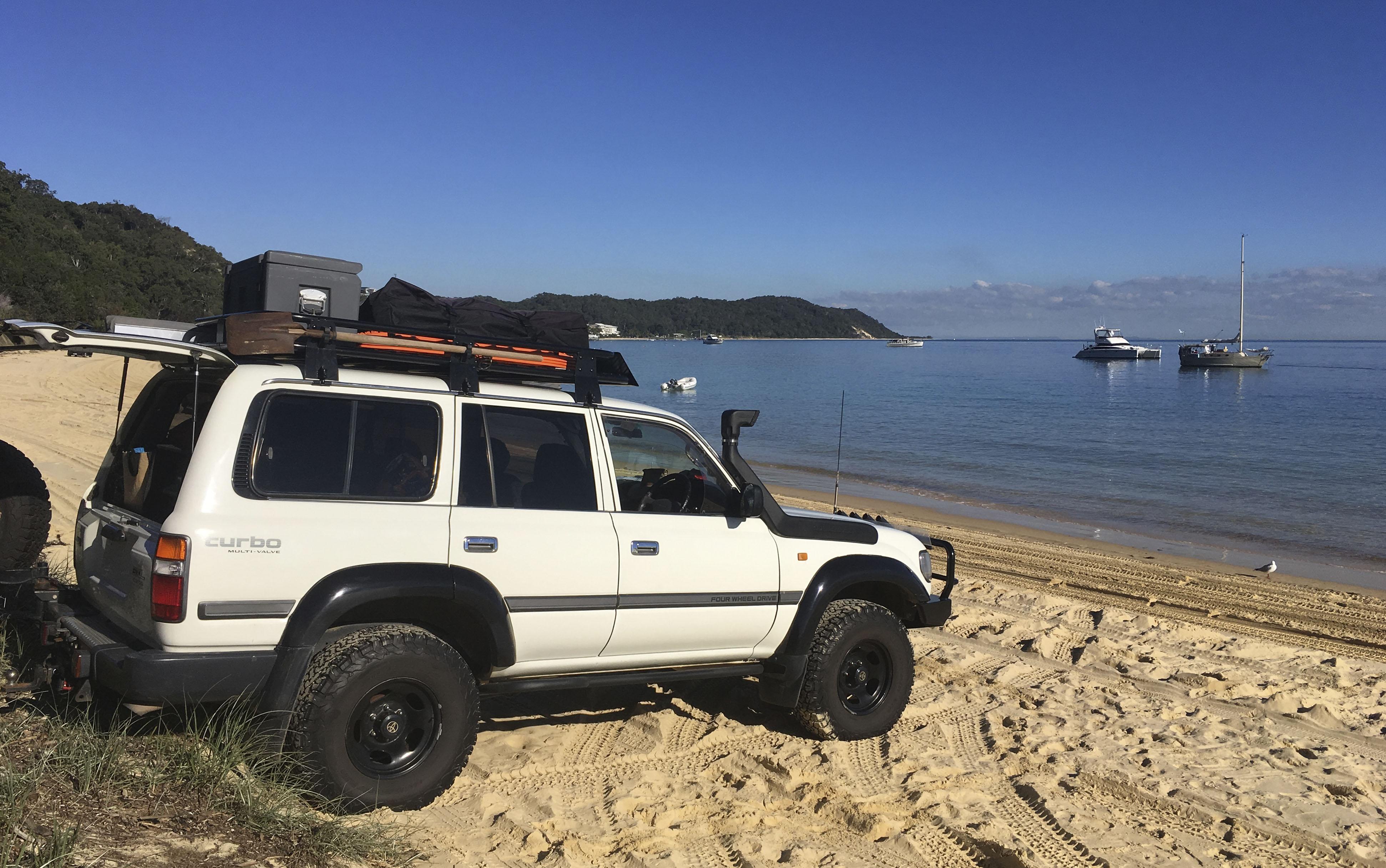 Tangalooma Holiday Lettings Moreton Island 4x4 Beach Driving